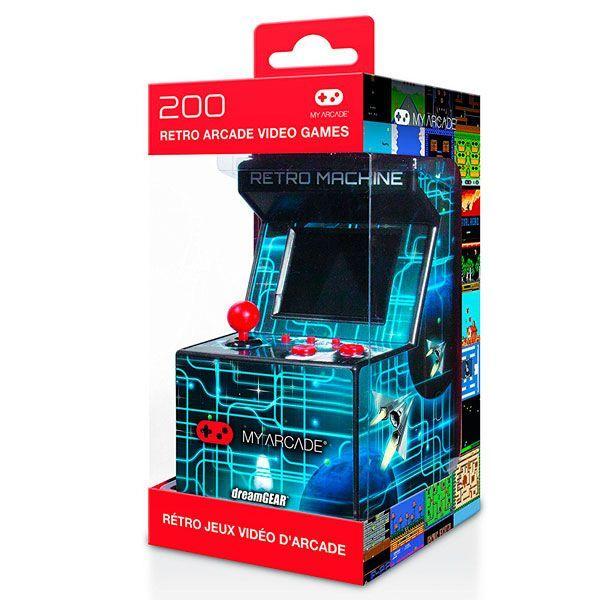 máquina arcade retro 200 juegos