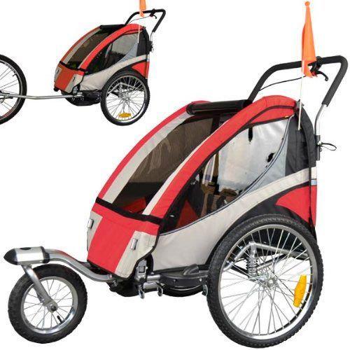 remolque 1 o 2 niños bici