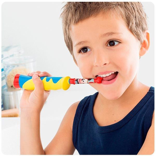 cepillo electrico infantil oral-b mickey mouse