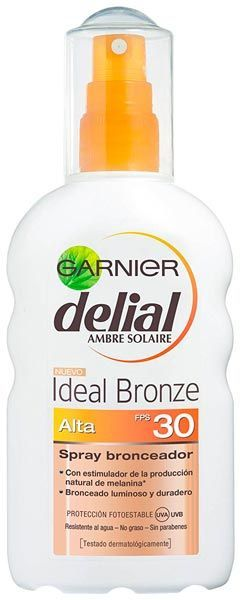 spray bronceador garnier fps30