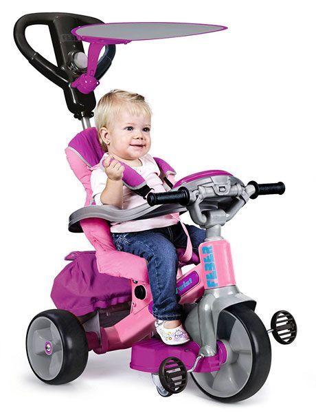 triciclo bebé Feber rosa