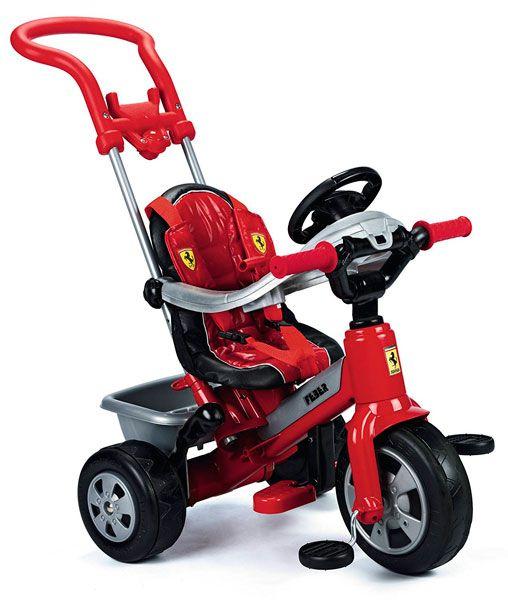 triciclo bebé Ferrari