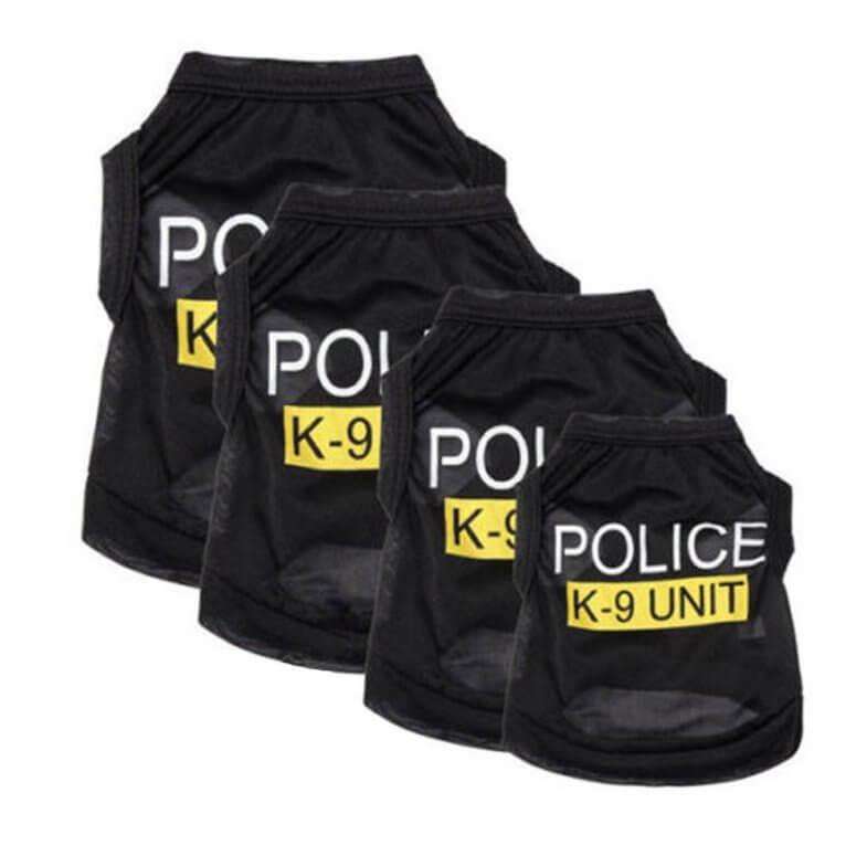 chaleco policia mascotas