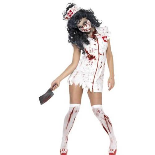 disfraz enfermera zombi