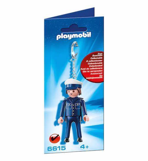 llavero policia playmobil