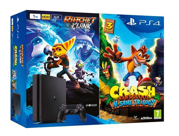 pack ps4 crash bandicoot ratchet clank