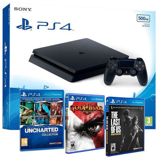 ps4 Uncharted God of War The Last of Us