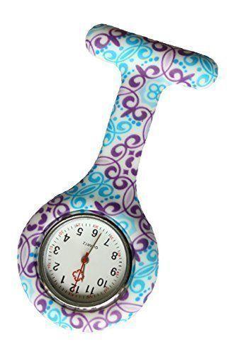 reloj broche enfermeras