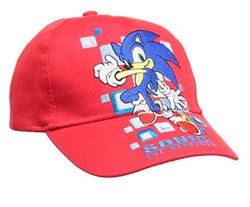 gorra sonic niños niñas