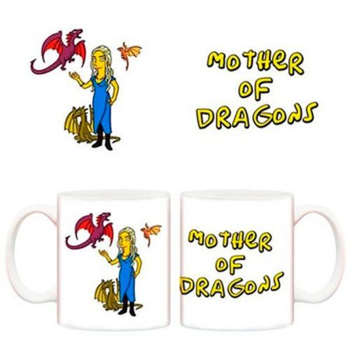 taza khaleesi simpsons