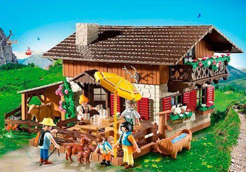 casa granja playmobil