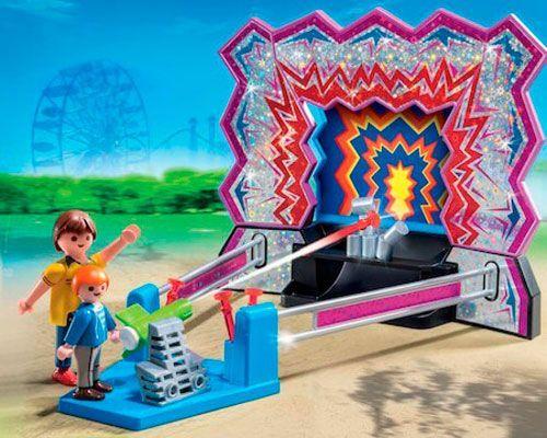 tiro al blanco playmobil