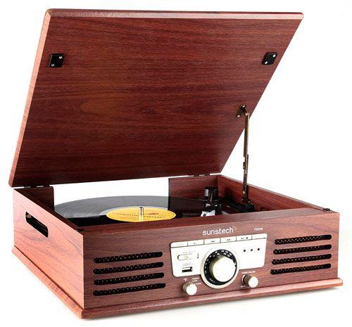 tocadiscos retro Sunstech PXR3