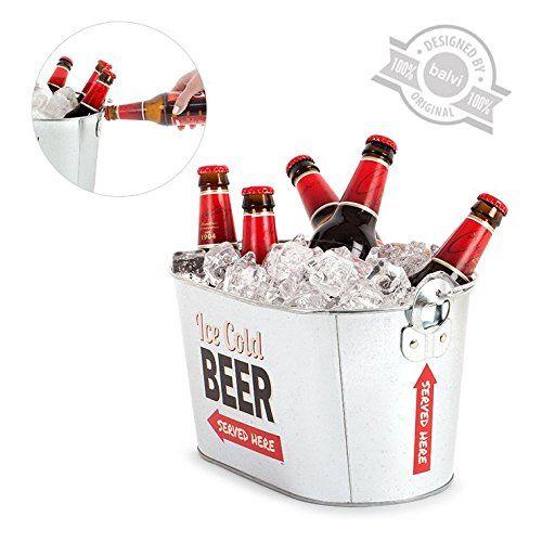 cubo cerveza abridor balvi