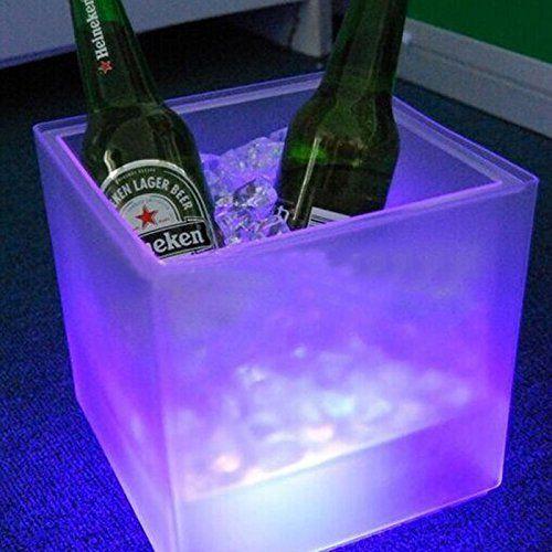 cubo cerveza led
