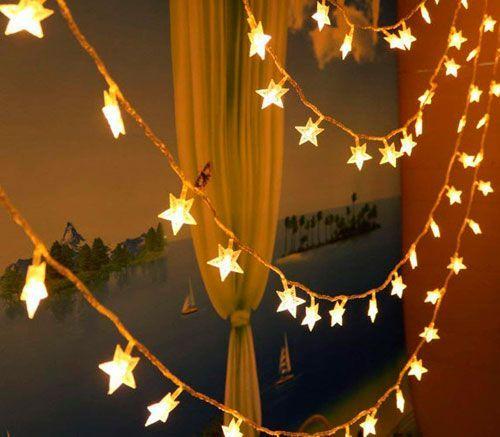 estrellas LED Navidad
