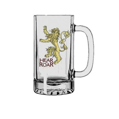 jarra de cerveza lannister cristal