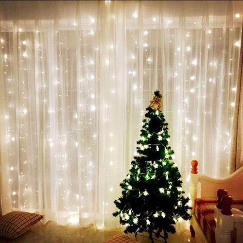 luces LED cortina