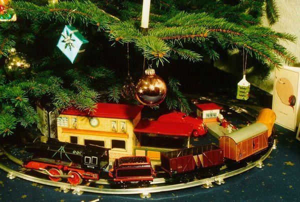 mejores trenes para el árbol de Navidad