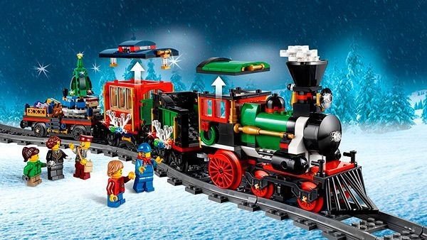 tren Navidad Lego
